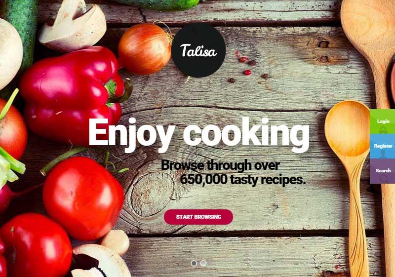 Start a Food Blog Talisa