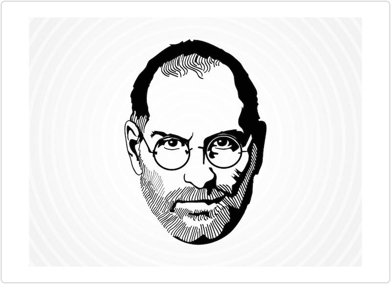 Steve Jobs Vector