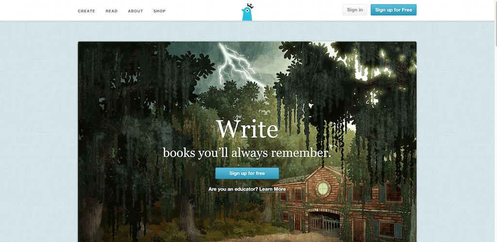Storybird Artful Storytelling