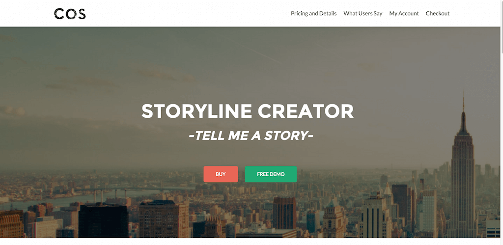 Storyline Creator • A tool to tell a story