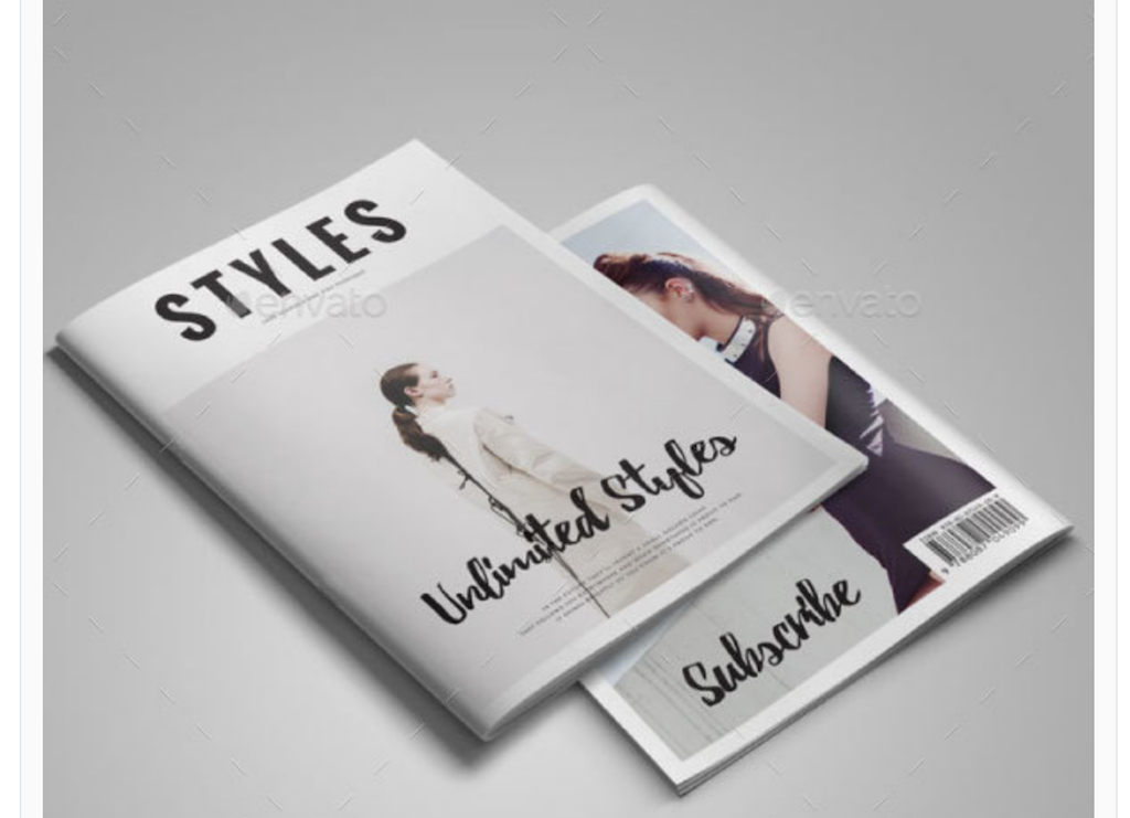 Top 33 Magazine PSD Mockup Templates in 2018 - Colorlib