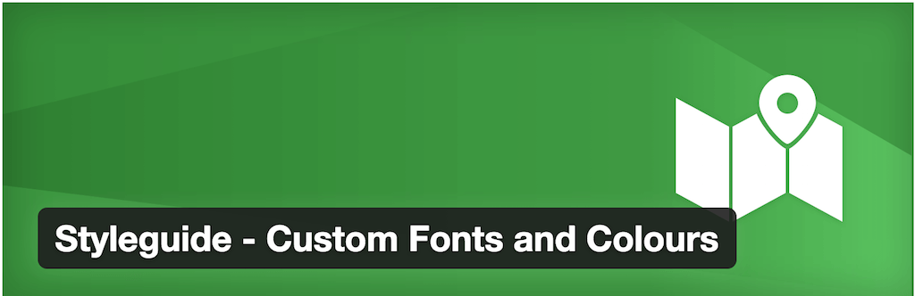 Styleguide - Custom Fonts and Colours