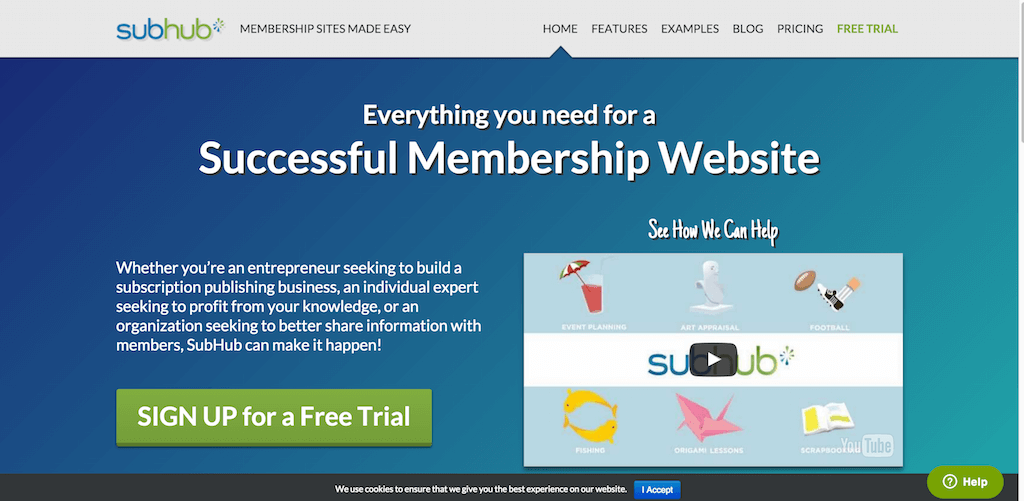 SubHub Membership Sites Made Easy