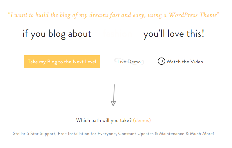 Sylph Landing Page