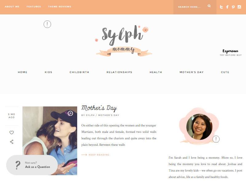 Sylph Mom Blogger
