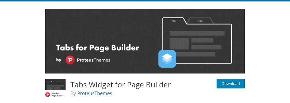 Tabs Widget for Post Builder