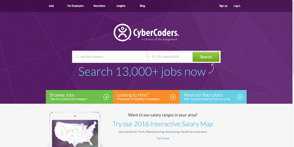 Tech Jobs and IT Recruiters CyberCoders