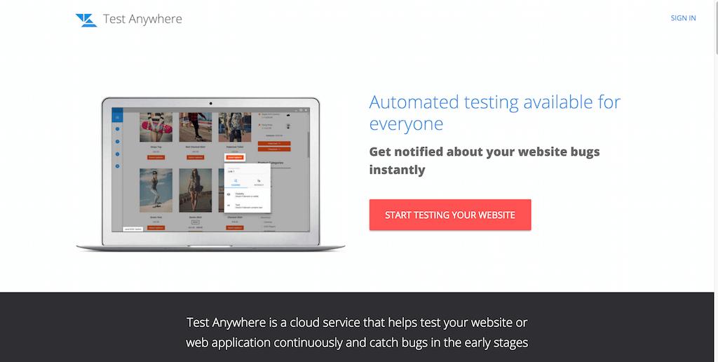 Test Anywhere