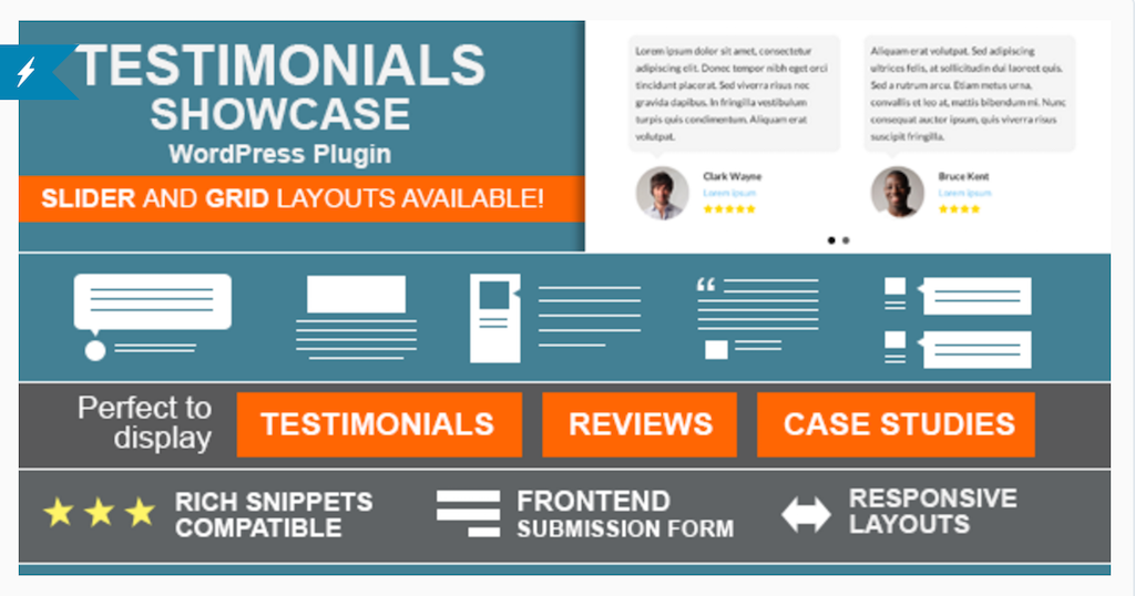 Testimonials Showcase WordPress Plugin WordPress
