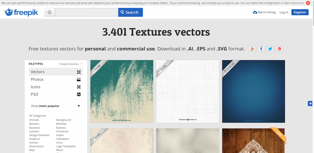 Top 15 Resources of Textures for Web Designers & Artists