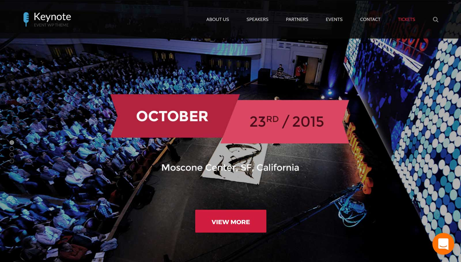Keynote Events Demo