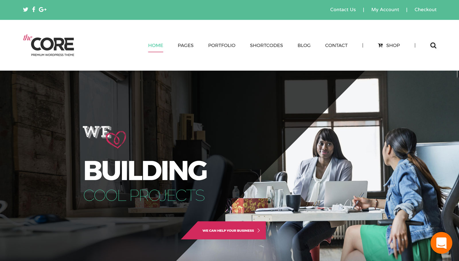 The Core Homepage