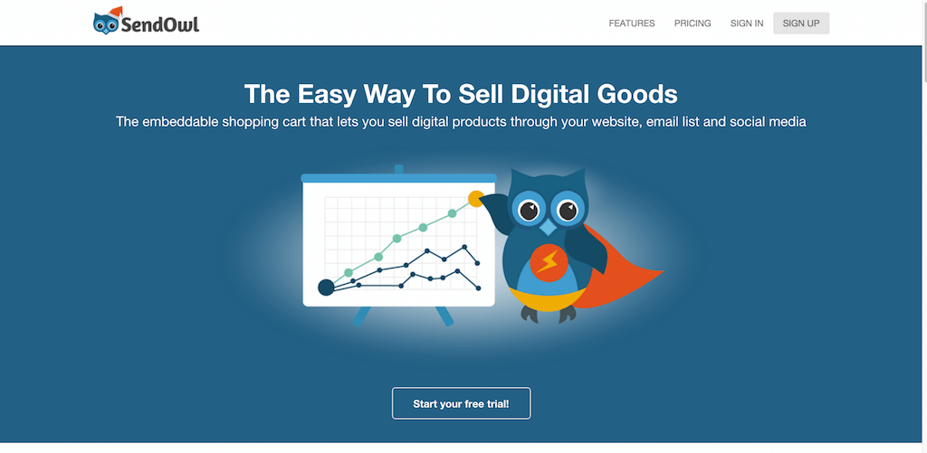 The Easy Way To Sell Your Creations Online SendOwl