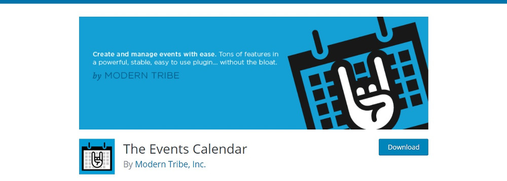 WordPress Calendar Plugins: The Events Calendar