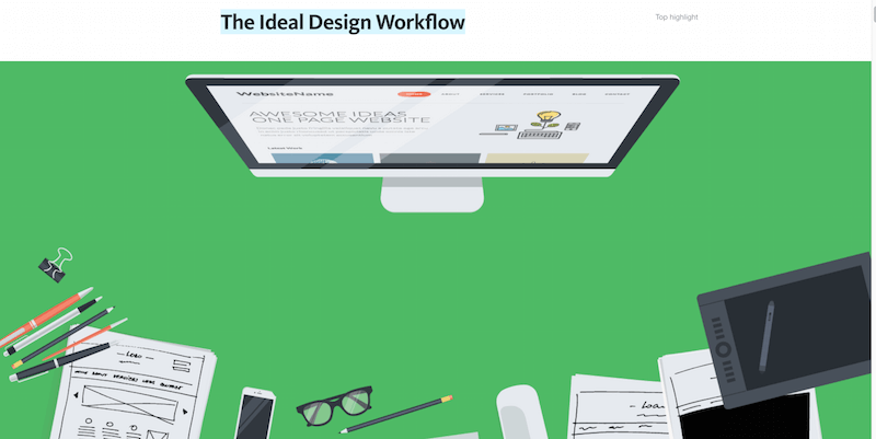 The Ideal Design Workflow