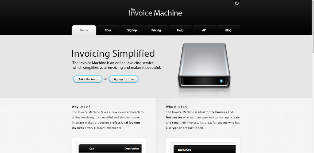 The Invoice Machine Online Invoicing Made Beautiful