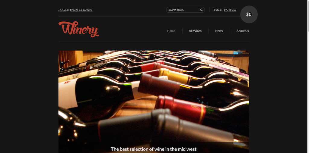 The New Standard Theme by Shopify