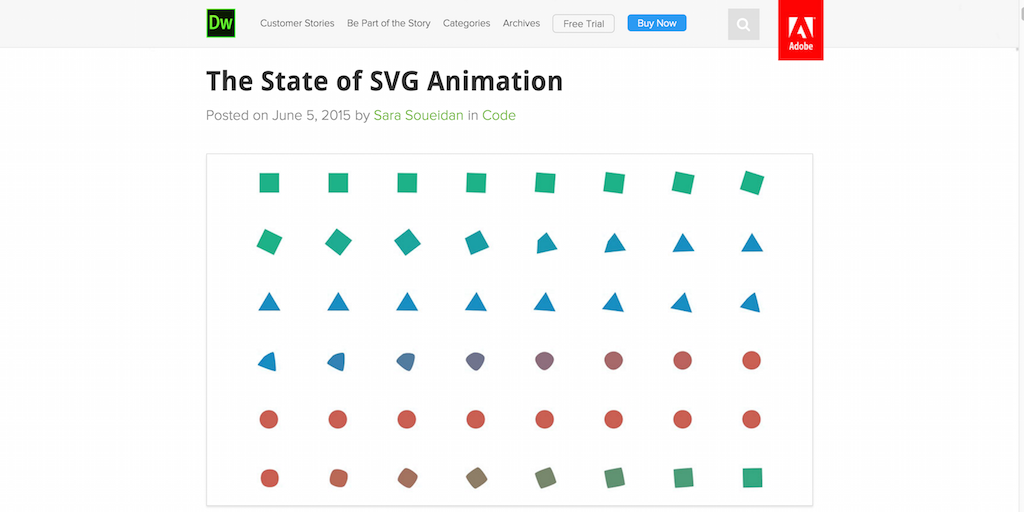 The State of SVG Animation