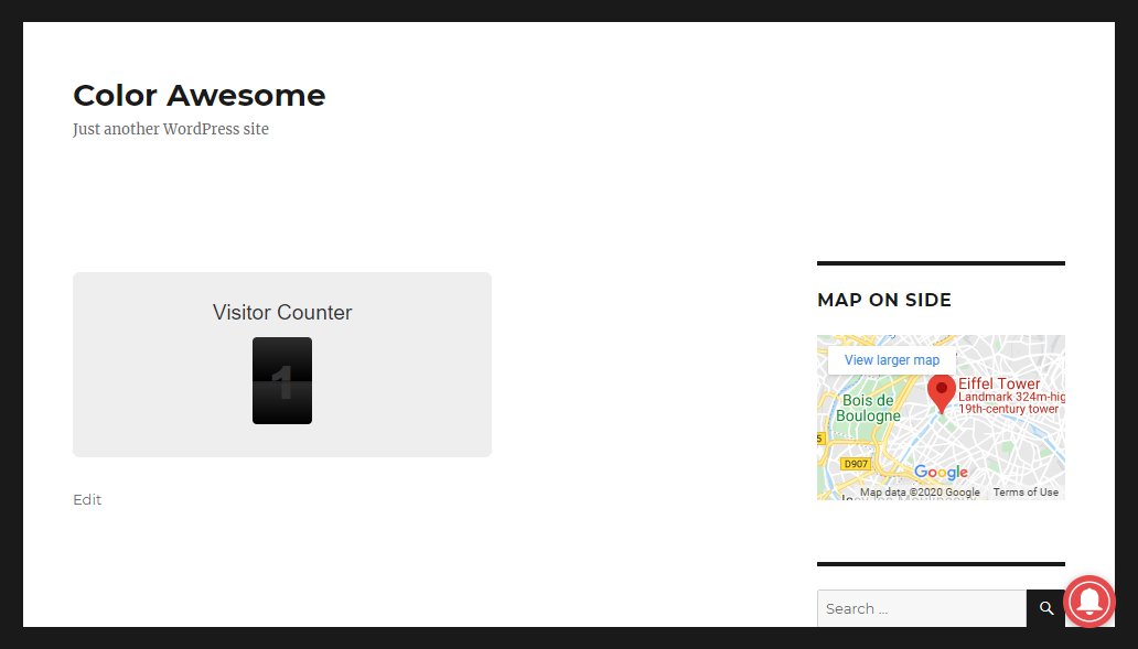 The Visitor Counter is a minimalist plugin to count the visits on your website.