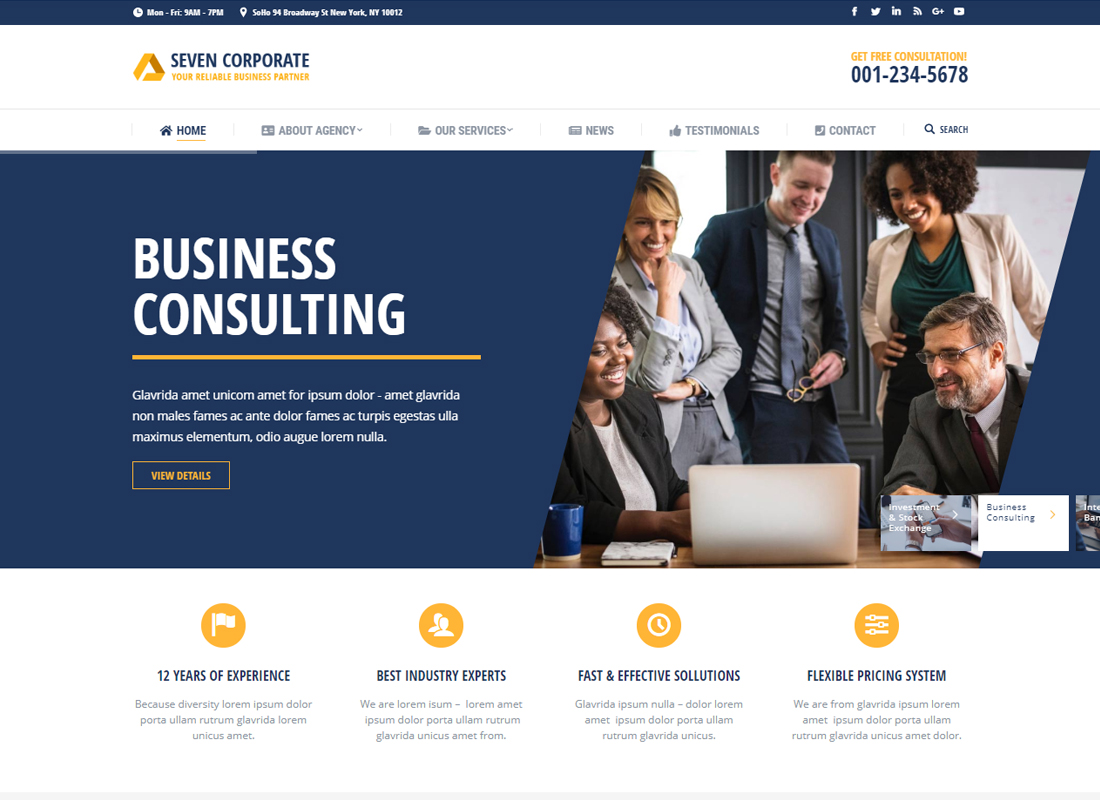 The7 | Multi-Purpose Website Building Toolkit for WordPress