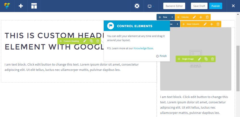TheGem Visual Composer UI