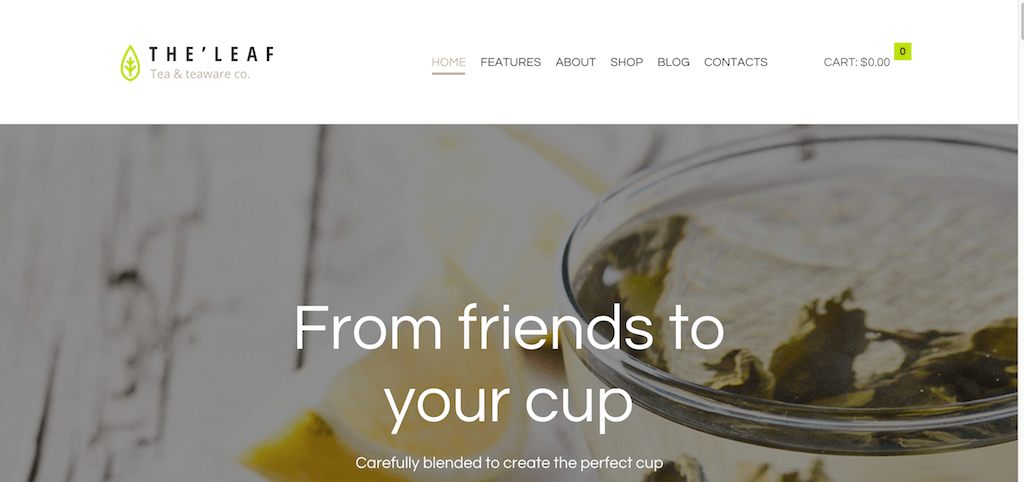 TheLeaf – Tea Company – Tea teaware co.