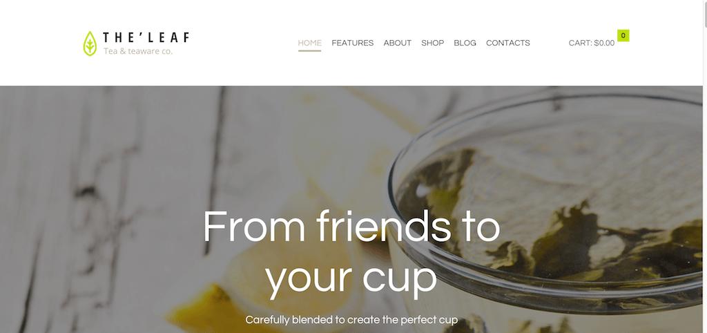 TheLeaf – Tea Company – Tea teaware co.