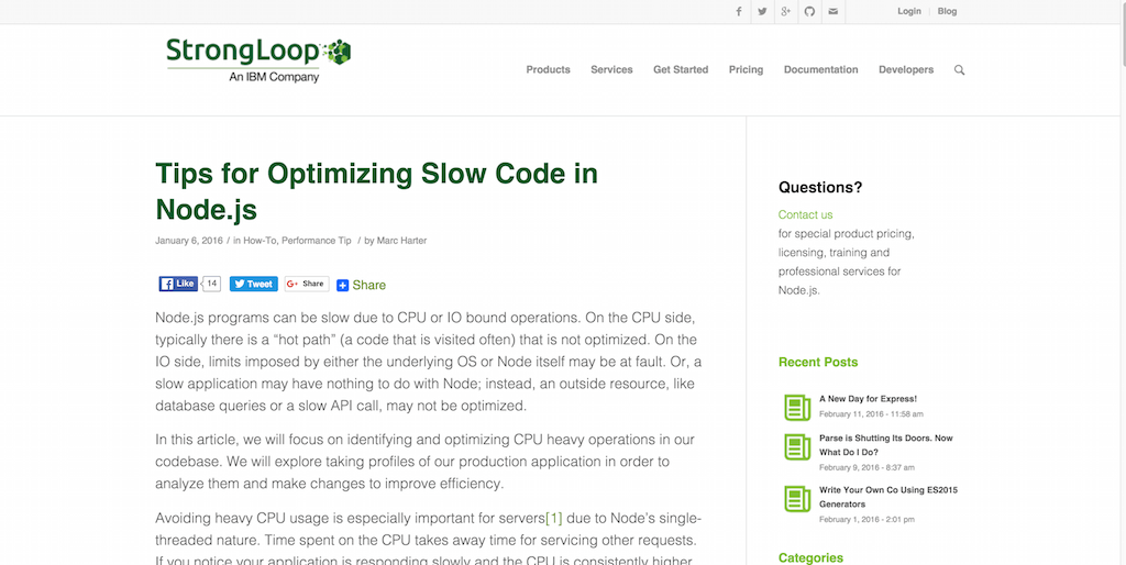 Tips for Optimizing Slow Code in Node.js