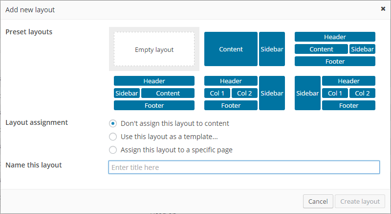 Toolset Review Layouts Add New
