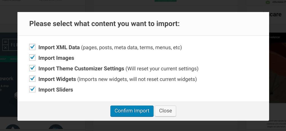 Demo Import Step 02