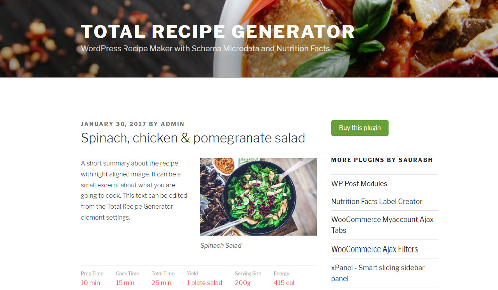 Best 15 wordpress recipe plugins forumfinder Images