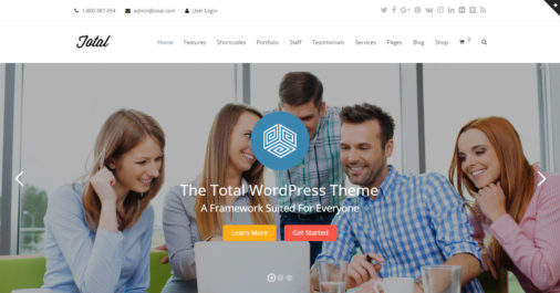 Total WordPress Theme Review FT