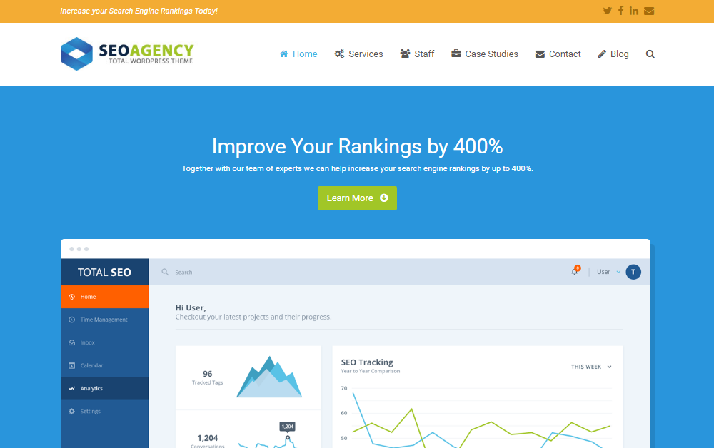 SEO Agency Demo