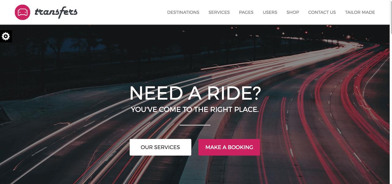 Transfers – Premium WordPress Theme » Just another WordPress site