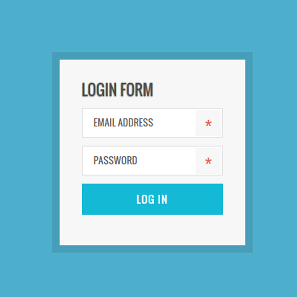 Trendy UI Kits Login