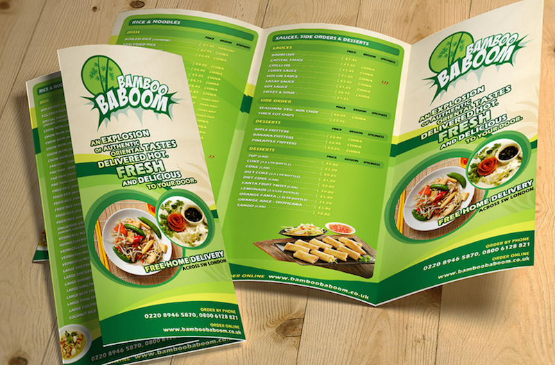 Tri Fold Restaurant Food Menu Template Free PSD  Free Downloadable Restaurant Menu Templates