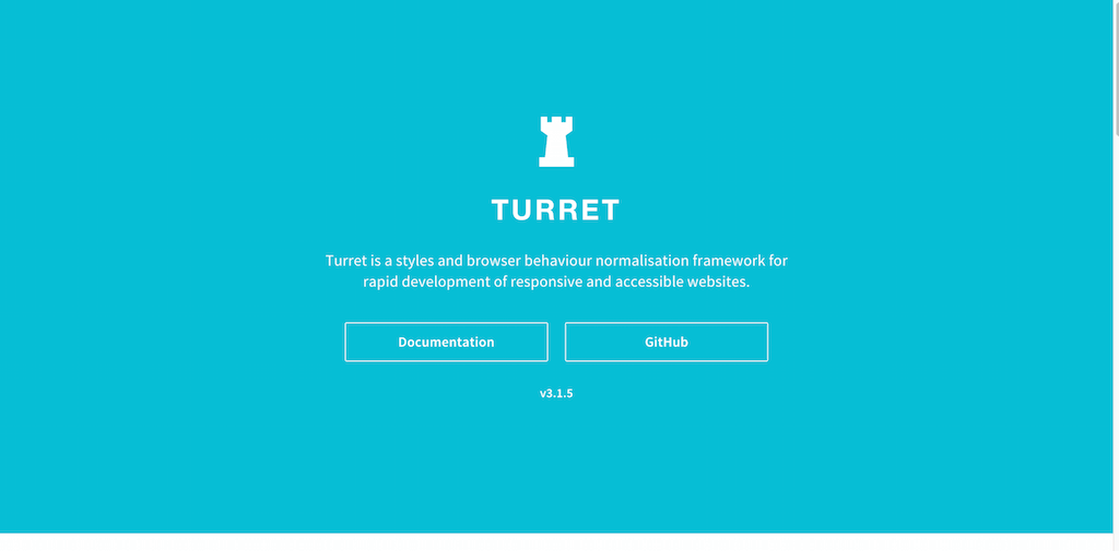 Turret A Responsive Front end Framework for Accessible and Semantic Websites