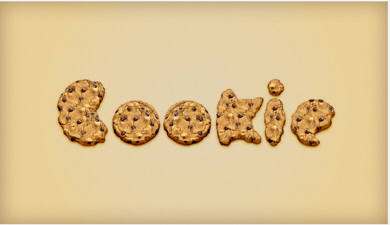 Tutorial- Cookie Text Effect