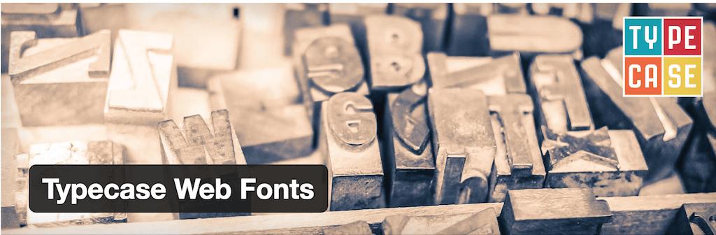 Typecase Web Fonts