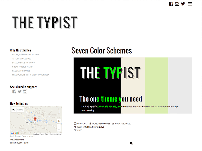 Typist&quot; width=&quot;800&quot; height=&quot;600&quot; srcset=&quot;https://colorlib.com/wp/wp-content/uploads/sites/2/Typist.png 800w, https://colorlib.com/wp/wp-content/uploads/sites/2/Typist-300x225.png 300w, https://colorlib.com/wp/wp-content/uploads/sites/2/Typist-768x576.png 768w&quot; data-lazy-sizes=&quot;(max-width: 800px) 100vw, 800px&quot; src=&quot;https://colorlib.com/wp/wp-content/uploads/sites/2/Typist.png&quot;/&gt;</p> <p><noscript><img class=