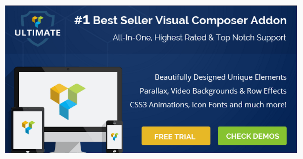Ultimate Addons for Visual Composer WordPress