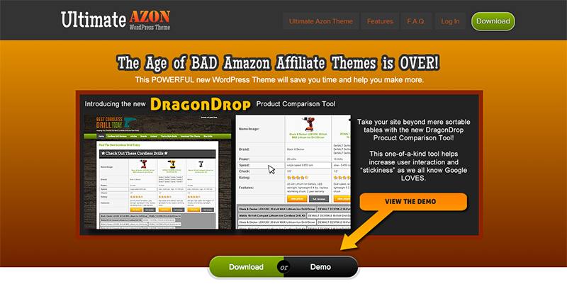 Ultimate Azon Theme - Best Amazon Affiliate