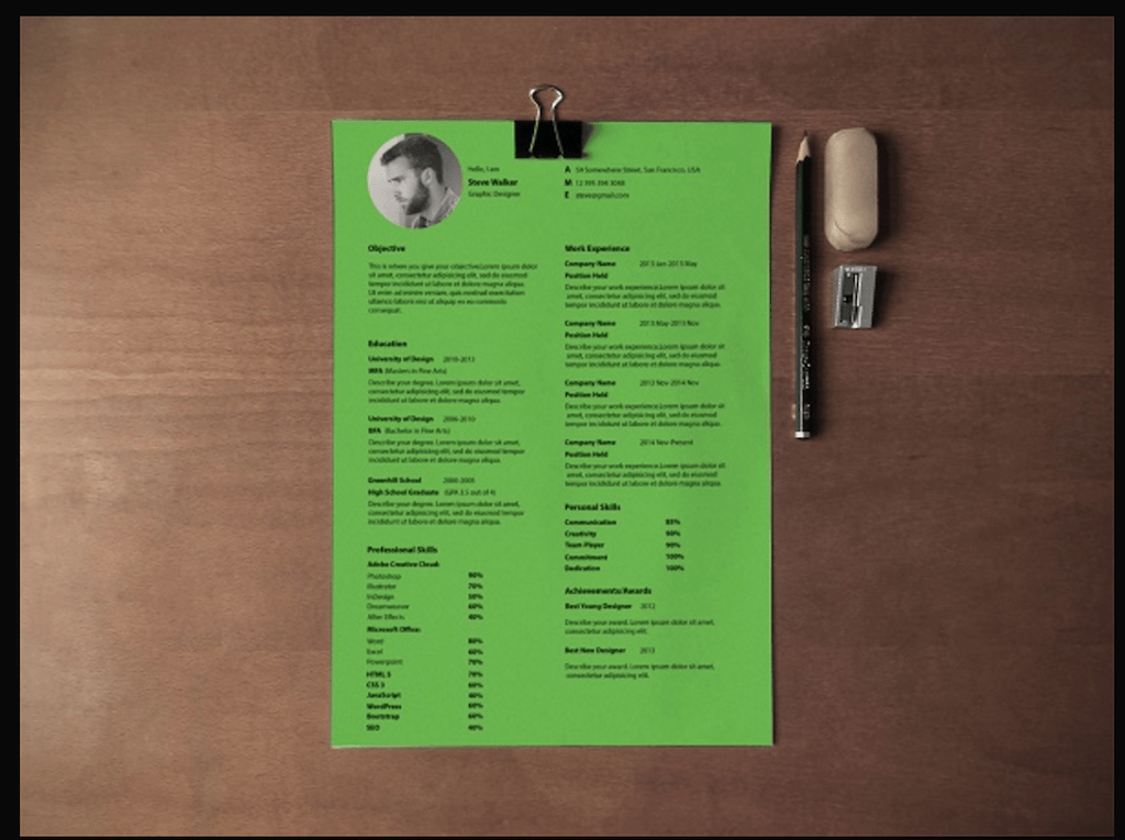 Ultra Minimal Resume By Saptarshi Nath  Design Resume Templates