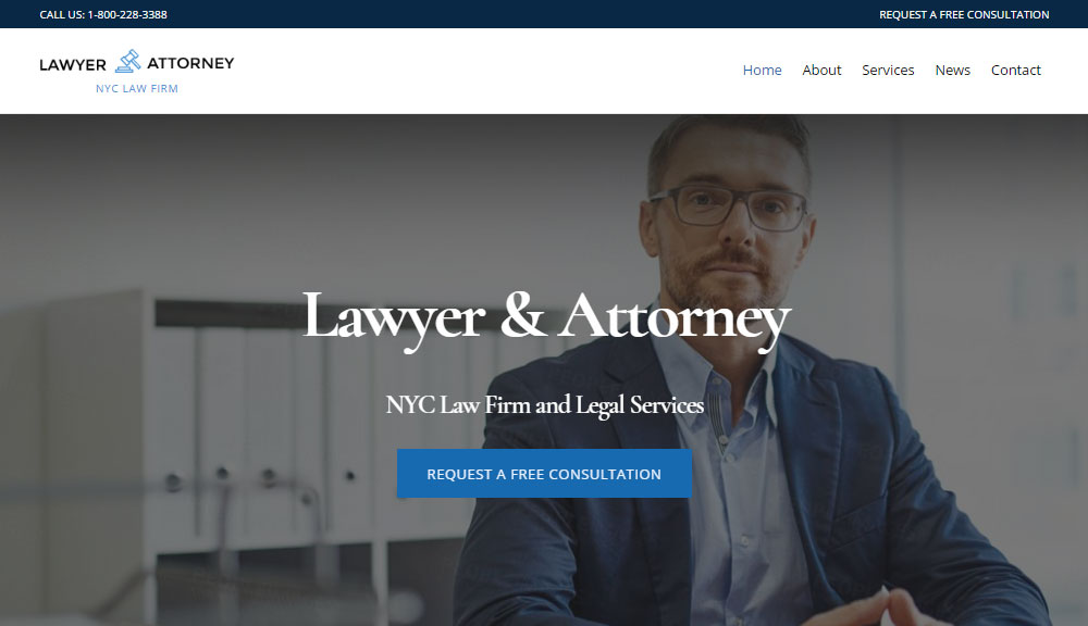 Ultra WordPress Theme Review Lawyer