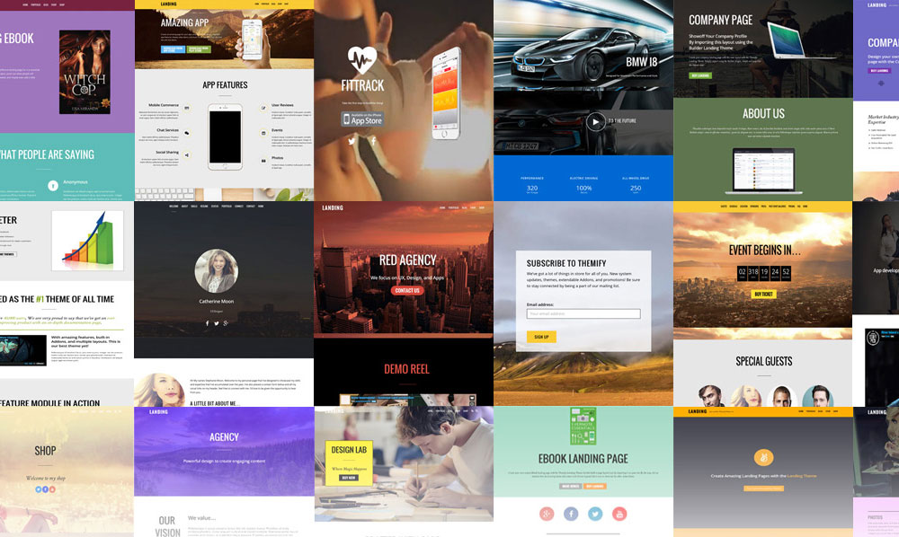 Ultra WordPress Theme Review Layouts