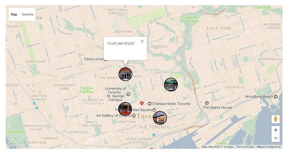 Ultra WordPress Theme Review Maps