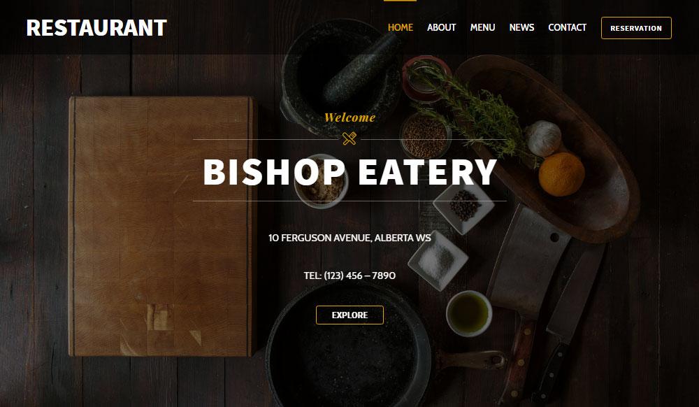 Ultra WordPress Theme Review Restaurant