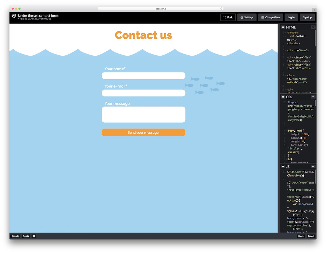 top 36 free html5 css3 contact form templates 2018 colorlib