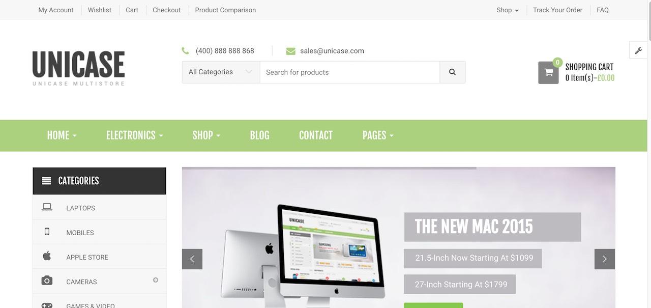 Unicase Store Electronics Furniture Fashion Store-min