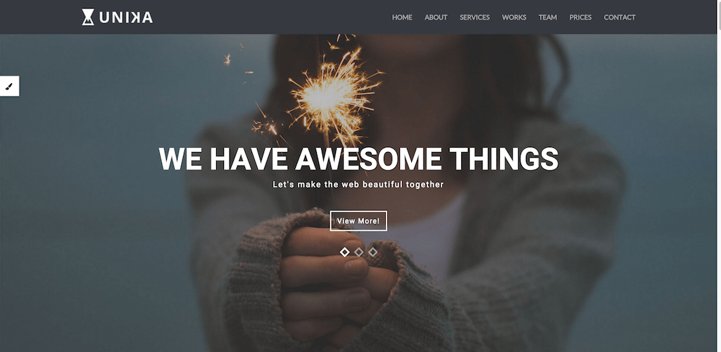 Top 28 Free One Page Website Templates Built With